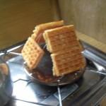 Waffeln toasten = Geiles Frühstück