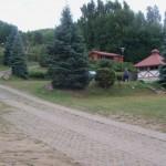 der Campingplatz geht über mehrere Terassen