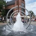 Brunnen mit schönen Symmetrien