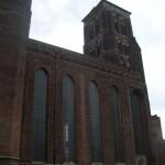 Die beeindruckende Marienkirche. Waren wir am Di auch noch oben