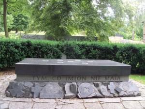 das ist von dem Friedhof der nicht-existenten Friedhöfe in Danzig